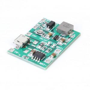 Модуль заряда аккумулятора HW-357 на TP4056 с повышающим DC-DC преобразователем