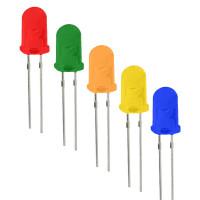 Комплект светодиодов 100шт 5мм LR-100led5
