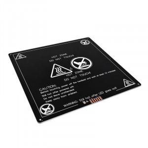 Нагревательный стол алюминиевый 220x220x3мм для 3D принтера 12/24в