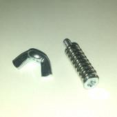Комплект регулируемого крепления нагревательного стола 3D принтера (М4-30)