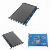 """Сенсорный дисплей 7"""" для Raspberry PI 1024×600 Rev2.1"""