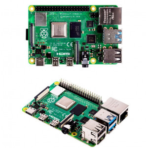 Микрокомпьютер Raspberry Pi 4 1GB RAM