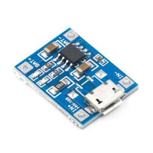 Модуль заряда аккумулятора micro USB TP4056