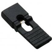 Разъем джампер удлиненный (Jumper) 2-х контактный, шаг 2.54мм