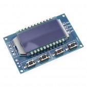 Генератор ШИМ сигналов XY-LPWM 1-канальный, 1 Гц, 150 кГц, плата с дисплеем