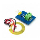 Датчик вибрации пьезоэлектрический с клемником для подключения