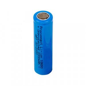 Li-ion аккумулятор 18650 3.7В Proconnect 2000мАч