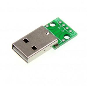Адаптер разъема USB типа папа