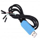 Адаптер USB - UART TTL на 2303TA-S16 с кабелем