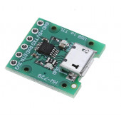 Адаптер USB - UART TTL на CH340e, microUSB