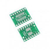 Адаптер sSOP16 на шаг 0.65 и 1.27 мм