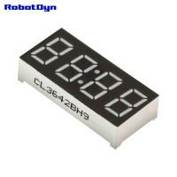 """Индикатор 4-значный 7-сегментный, размер 30x14 мм, 0.36"""" (упак. 5шт)"""
