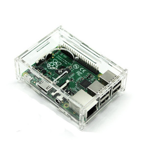 Акриловый корпус для Raspberry Pi3 B, B+