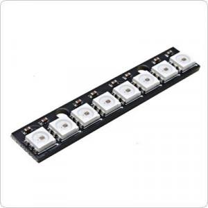 Модуль RGB светодиодов CJMCU-2812-8 с ШИМ чипом WS2812