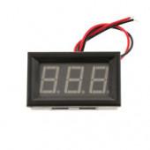 Мини вольтметр-дисплей от 0 до 30в в корпусе