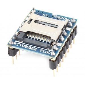 Модуль MP3 плеера WTV020M01