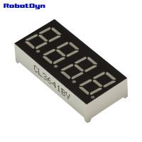 """Светодиодный LED дисплей 4-значный 7-сегментный, размер 30x14 мм, 0.36"""" (упак. 5шт)"""