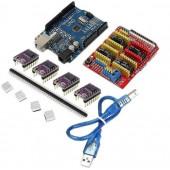 Набор электроники для GRBL под DIY фрезер или лазер CNC Shield V3.0 UNO+8825 для ЧПУ