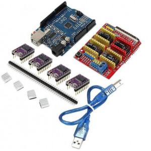 Комплект CNC Shield V3.0 на UNO+DRV8825 для ЧПУ