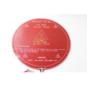 Нагревательный стол Mk2Y, 12 вольт, 220мм  для Delta 3D принтера