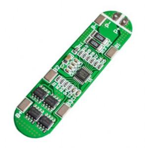 Контроллер заряда-разряда hx-4s-a01 четырех литийоных аккумуляторов 18650