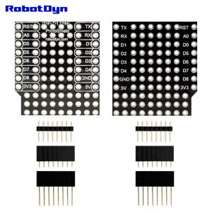 Плата расширения WIFI D1 mini WeMos для прототипирования с набором коннекторов
