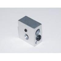 Нагревательный блок для 3d принтера с фиксацией термистора