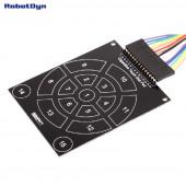 Ёмкостная клавиатура дисковая-радиальная для ёмкостного модуля TTP229