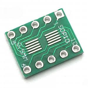 Адаптер sSOP10 на шаг 0.5 и 0.95 мм