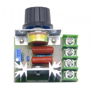 Регулятор напряжения сети 220В, 2000W (диммер)