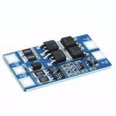Контроллер заряда-разряда hx-2s-jh20 двух литий-ионных аккумуляторов 18650 с балансировкой