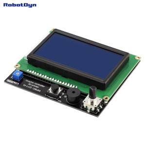 Графический LCD 128×64 контроллер для 3D принтера с SD-card reader