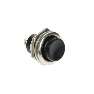 Кнопка  металл RWD-306, 220 В, 2А (2с), ON-OFF, d=16.2