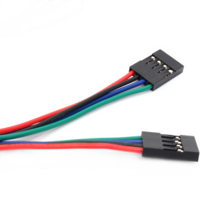 Соединительный кабель 4PIN, dupont 2.54, 70см мама-мама