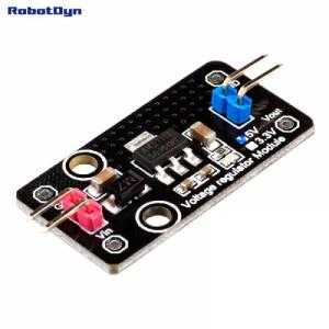 Линейный регулятор напряжения - вых. 3.3V 800мА, вх. 6-12VDC