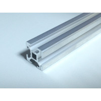 Конструкционный профиль, алюминий,  20x20, 600мм