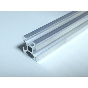 Конструкционный профиль, алюминий,  20x20, 400мм, V-слот