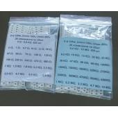 Набор часто используемых SMD резисторов 0805, 50 номиналов (1250 шт) по 25 шт.