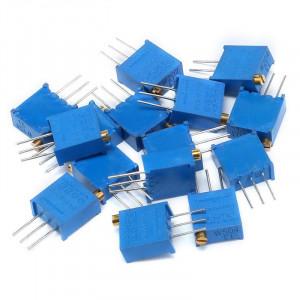 Набор резисторов подстроечных 3296W 14 значений