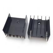 Радиатор 25x23x16mm, TO-220