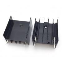 Радиатор 25x23x16 TO-220