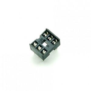 Гнездо компонента DIP2.54, 7.62мм, 6 pin квадратные