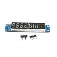 Модуль 8-ми разрядного 7-ми сегментного индикатора на чипе MAX7219