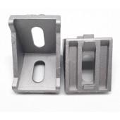 Монтажный алюминиевый уголок под профиль 4040