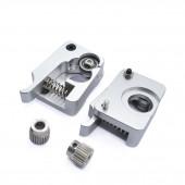 Комплект MK10 механизма протяжки нити пластика в экструдер (правый рычаг)