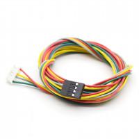 Соединительный кабель для шагового двигателя 4pin - 6pin (30, 100, 150мм)