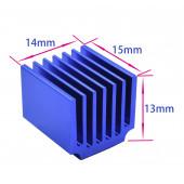 Радиатор алюминиевый 14x15x13mm
