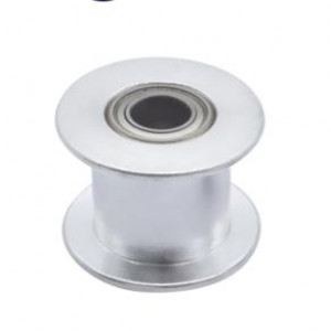 Шкив натяжитель для ремня GT2-10мм, гладкий, вал 5мм, диаметр 18мм