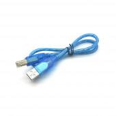 Кабель USB в USB-B для Arduino UNO/MEGA/3D принтера, 30-150см