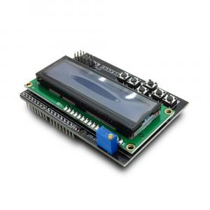 LCD Дисплей шилд 1602 с кнопками keypad shield ардуино